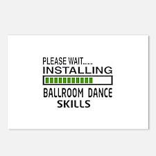 Please wait, Installing B Postcards (Package of 8)