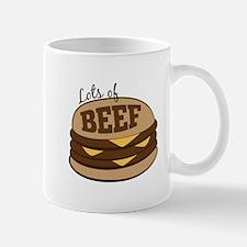 Lots Of Beef Mugs