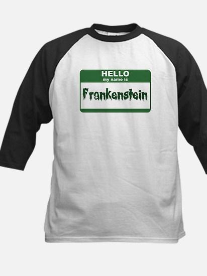 Frankenstein Kids Baseball Jersey