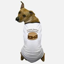 Tripple Decker Burger Dog T-Shirt