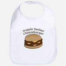 Tripple Decker Burger Bib