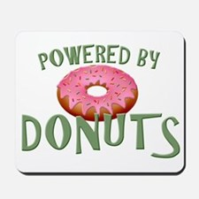 Powered By Donuts Mousepad