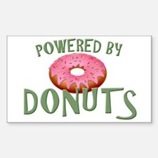 Powered By Donuts Decal