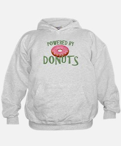 Powered By Donuts Hoodie