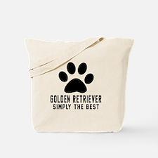 Golden Retriever Simply The Best Tote Bag