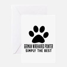 German Wirehaired Pointer Simply The Greeting Card