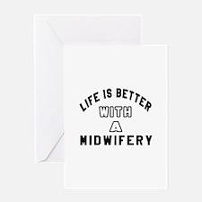 Midwifery Designs Greeting Card