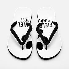 Field Spaniel Simply The Best Flip Flops
