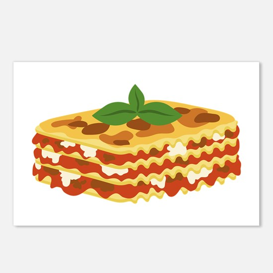 Lasagna Postcards (Package of 8)