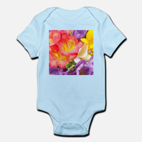 Colorful Flowers Body Suit