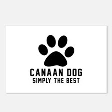 Canaan Dog Simply The Bes Postcards (Package of 8)