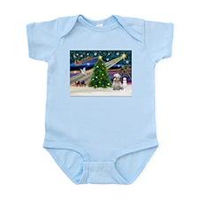 XmasMagic/Shih Tzu (15) Infant Bodysuit