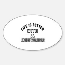 Licensed Professional Counselor Des Decal