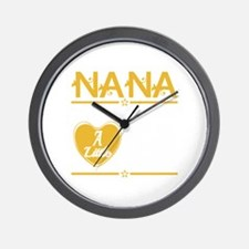 Nana and papa Wall Clock