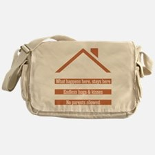 Unique Nana and papa Messenger Bag
