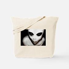 Alien Grey Tote Bag