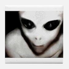 Alien Grey Tile Coaster