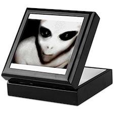 Alien Grey Keepsake Box