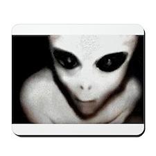Alien Grey Mousepad