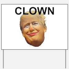 Trump Clown Yard Sign