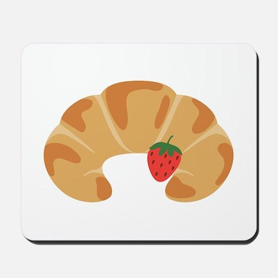Strawberry Croissant Mousepad