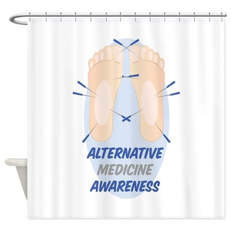 alternative medicine shower curtain