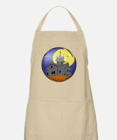 Haunted House BBQ Apron
