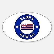 Cool Kihei Sticker (Oval)