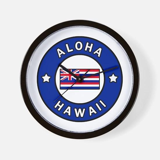 Cute Pearl city hawaii Wall Clock