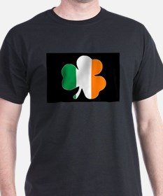 Ireland Flag Shamrock T-Shirt