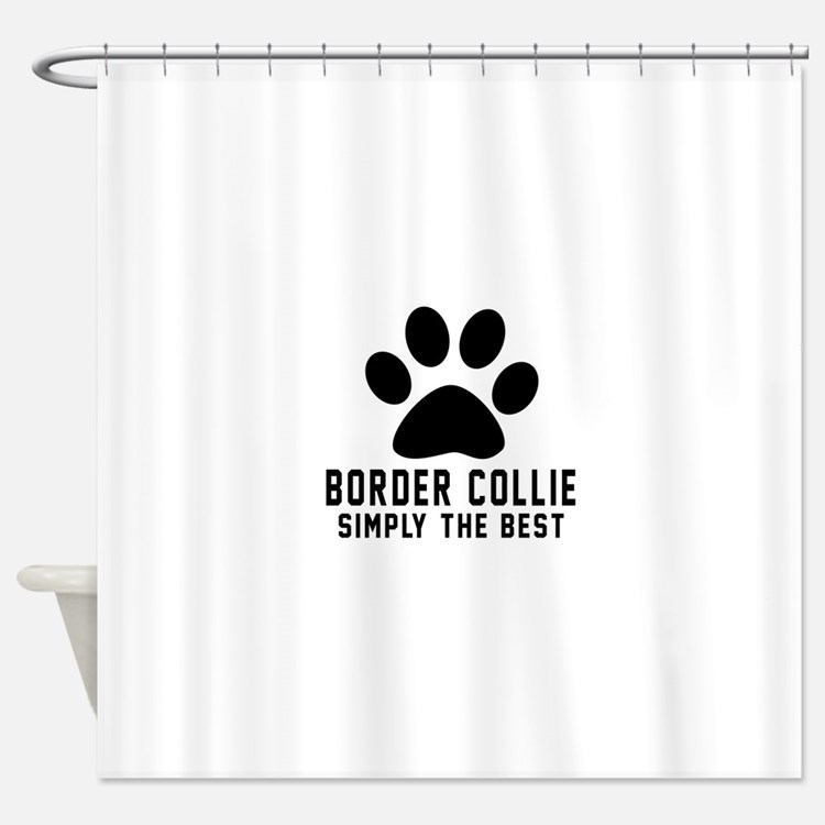 Border Collie Simply The Best Shower Curtain
