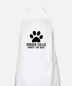 Border Collie Simply The Best Apron