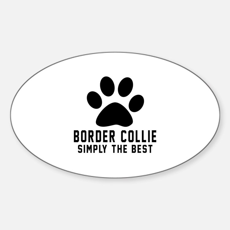 Border Collie Simply The Best Decal