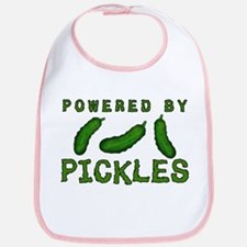 Powered By Pickles Bib