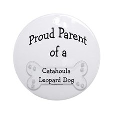 Catahoula Proud Parent Ornament (Round)