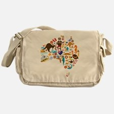 Cute Aussie Messenger Bag
