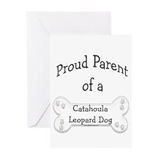 Catahoula Proud Parent Greeting Card