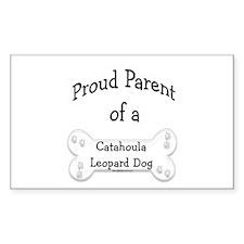 Catahoula Proud Parent Rectangle Decal