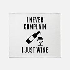 I Just Wine Stadium Blanket