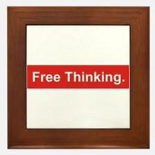 Free thinking Framed Tile