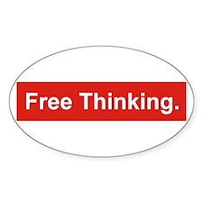 Free thinking Stickers