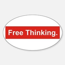 Free thinking Stickers