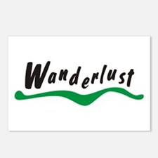 Wanderlust Postcards (Package of 8)