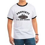 Property of a HARDCORE US Army Soldier Ringer T