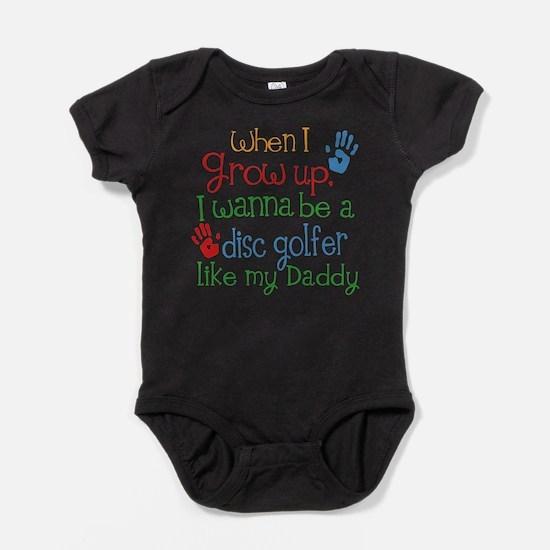 Disc Golfer Like Daddy Baby Bodysuit
