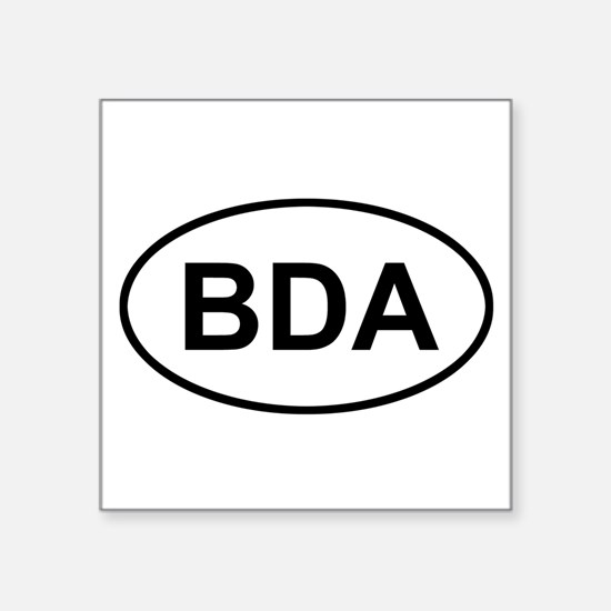 Bermuda BDA Sticker