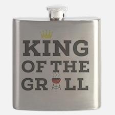 Cute Bbq king Flask
