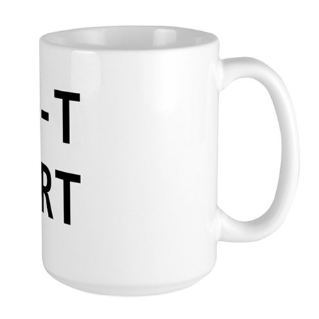 ID-10-T support Large Mug