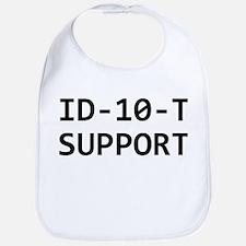 ID-10-T support Bib
