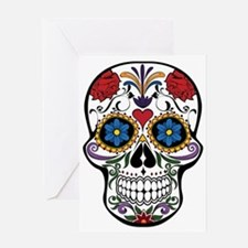 Unique Calavera Greeting Card